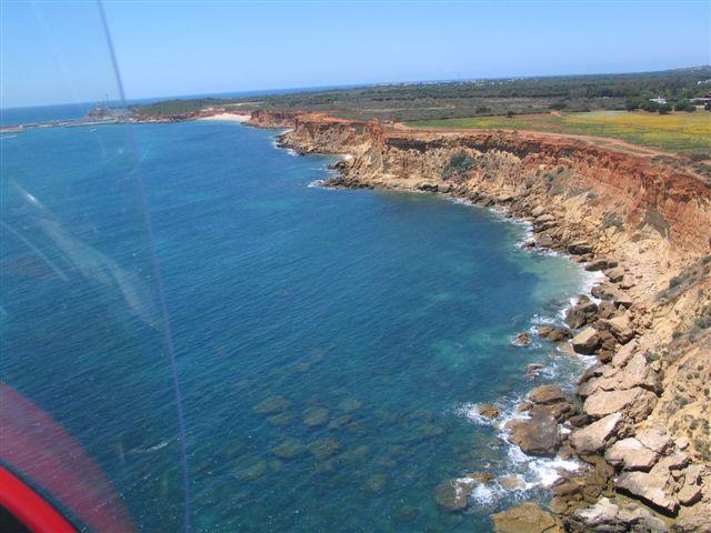 gyrocopter autogiro coast trip red autogiro
