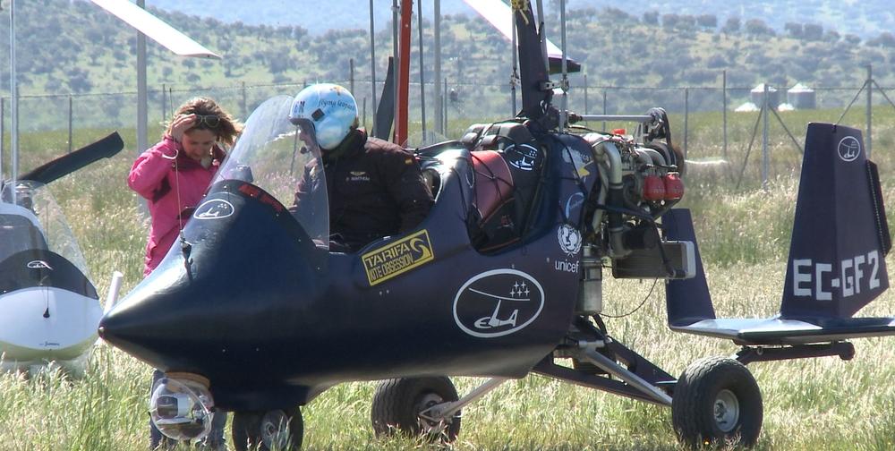 giroafrica girodynamics tarifa-kite-obsession ela-aviacion take off bye bye