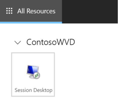 Windows Virtual Desktop Session Icon