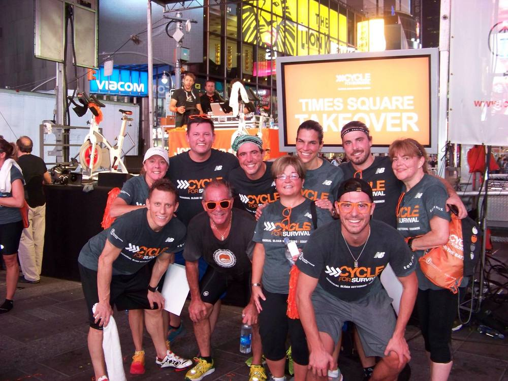 Team Ginger Strong post sweat!