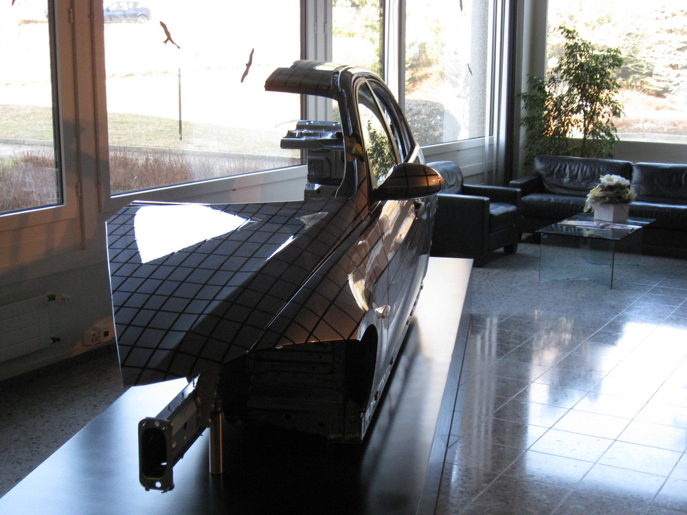 Fahrzeug steht in Sika China Ltd Suzhou
