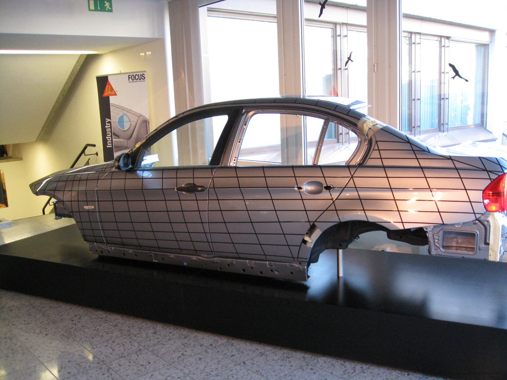 BMW 3er Serie Carrosserie wurde bei uns Lackiert