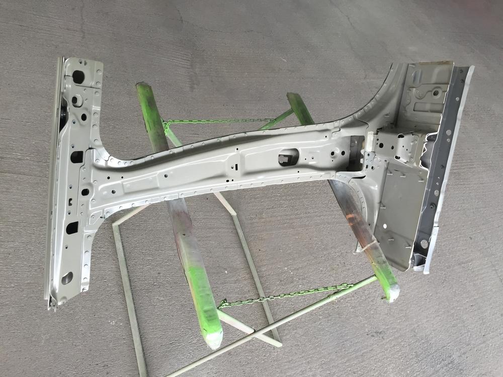 Range Rover B-Säule aus Aluminium