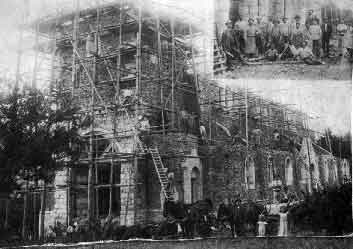 Der Bau der Kirche wurde 1910 fertig gestellt