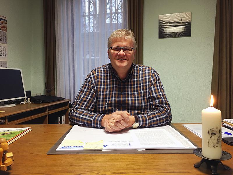 Ortsbürgermeister Christoph Neyer