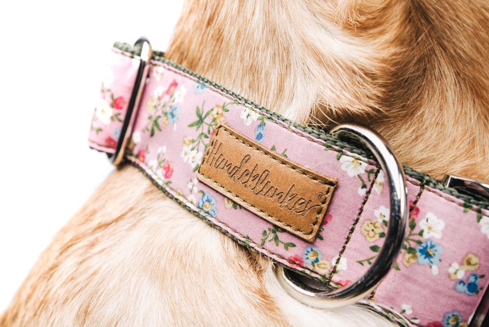 Das Hundeklunker-Label aus Leder.