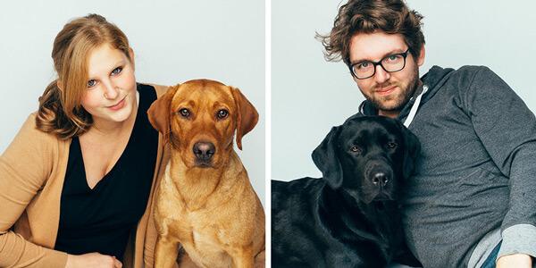 Pfotentick Hundeblog: Jeanette & Daniel mit Finja & Summer