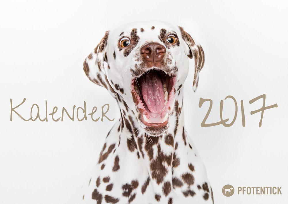 Pfotentick Hundekalender 2017