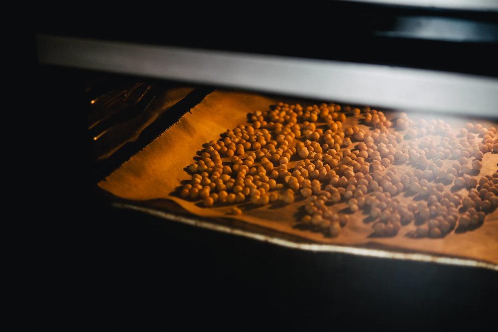 Schritt 5: Backblech in den Ofen für ca. 1 Stunde