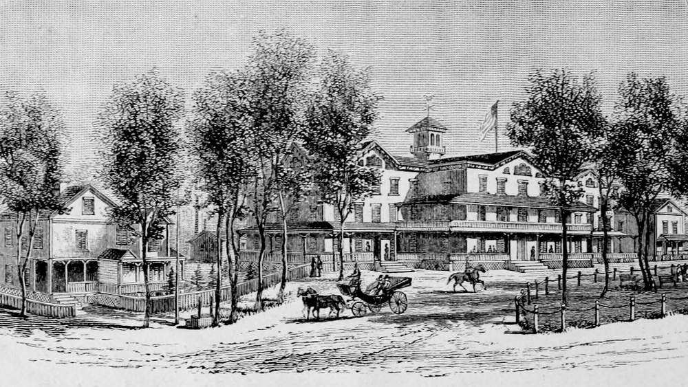 Pavilion Hotel, East Islip, 1881