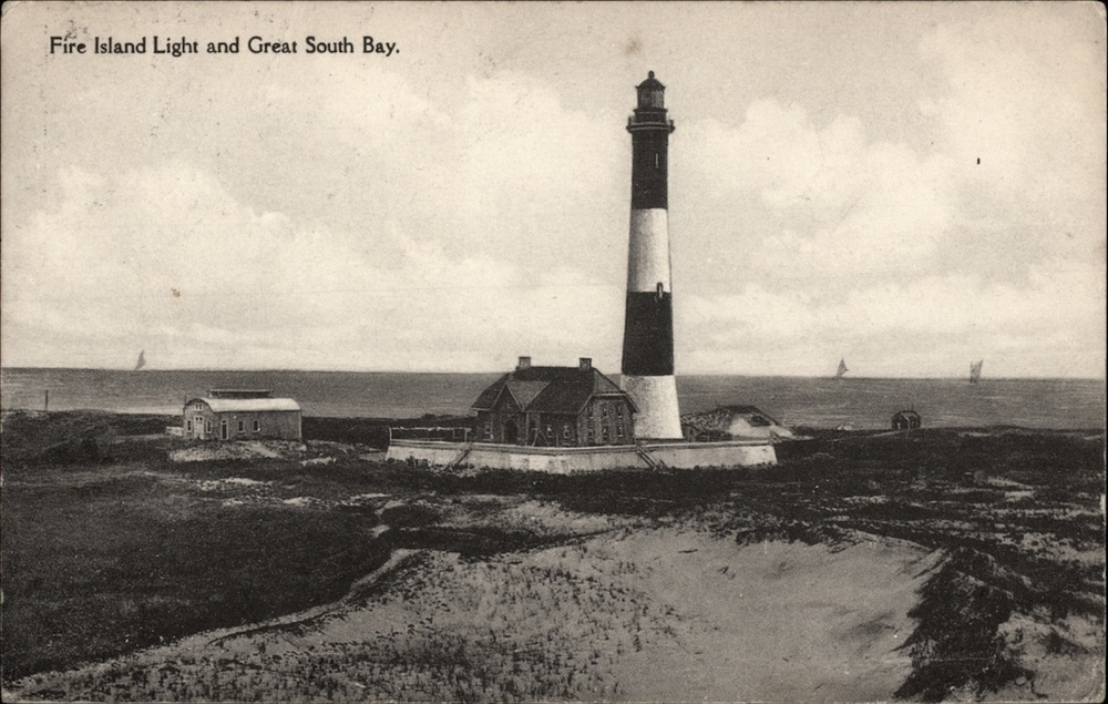 Fire Island Lighthouse, 1917