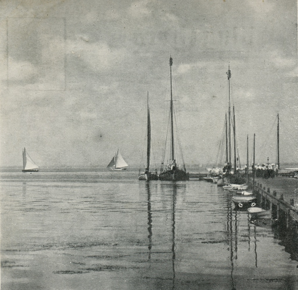 Dock Scene at Point O'Woods, 1905