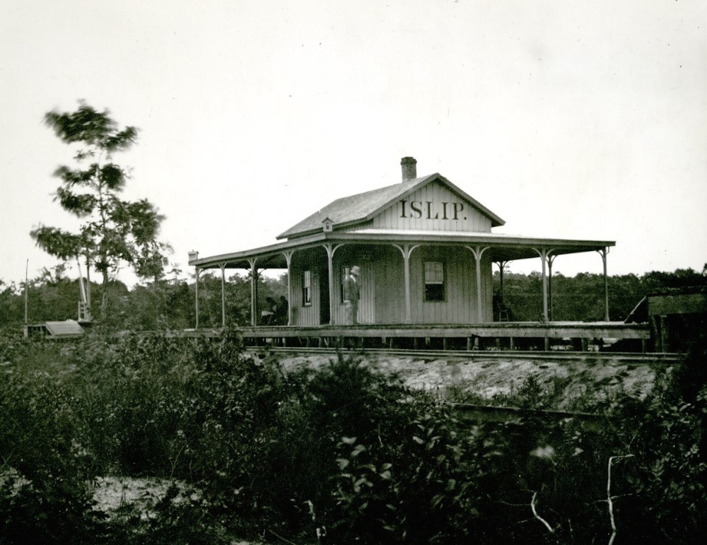 Islip Railroad Station, 1879