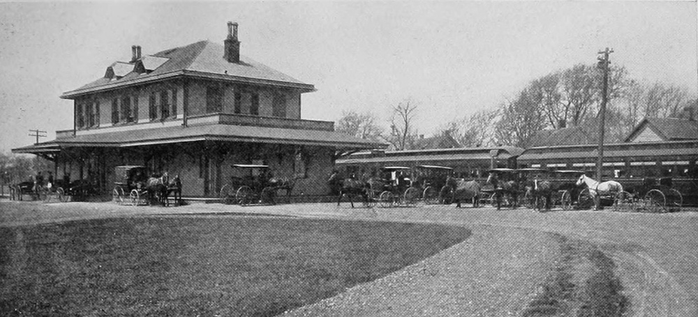 Babylon Railroad Station, 1909