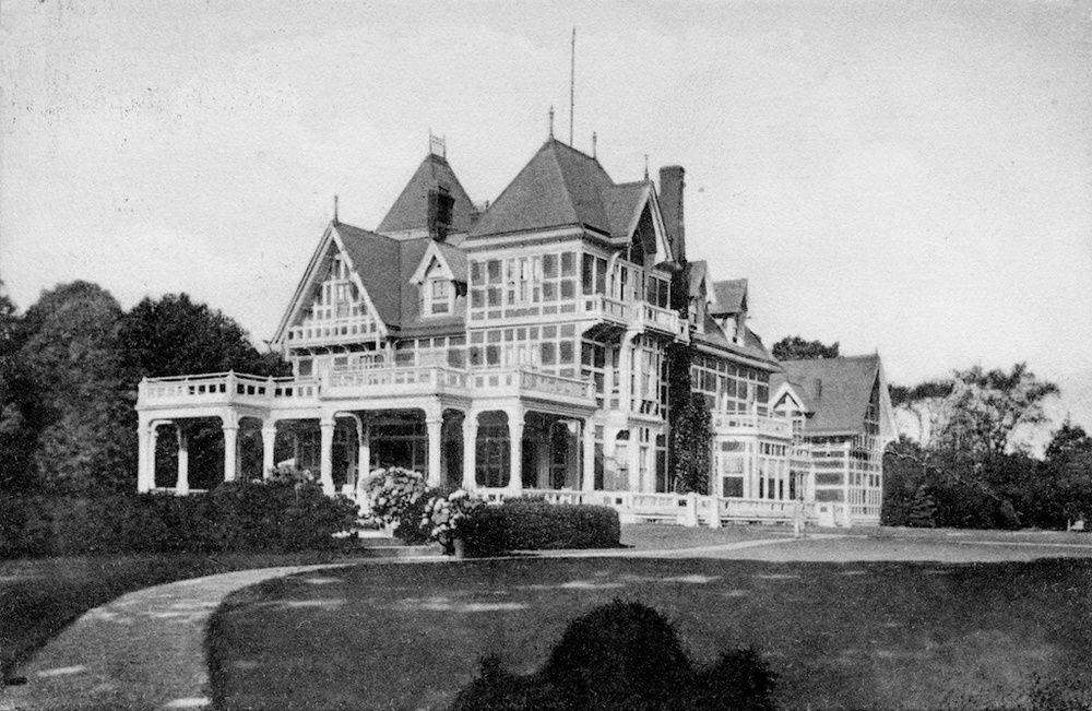 Henry B. Hyde's The Oaks, circa 1890