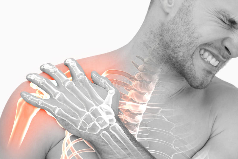 digital-composite-highlighted-shoulder-pain-man-against-white-background-93245285.jpg