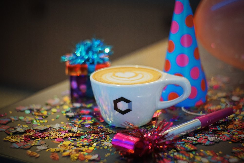 First Sarah Beth Has Invented A New Drink For You We Call It The Birthday Cake Latte I Dont Think Need To Explain More Than That Just Come Try