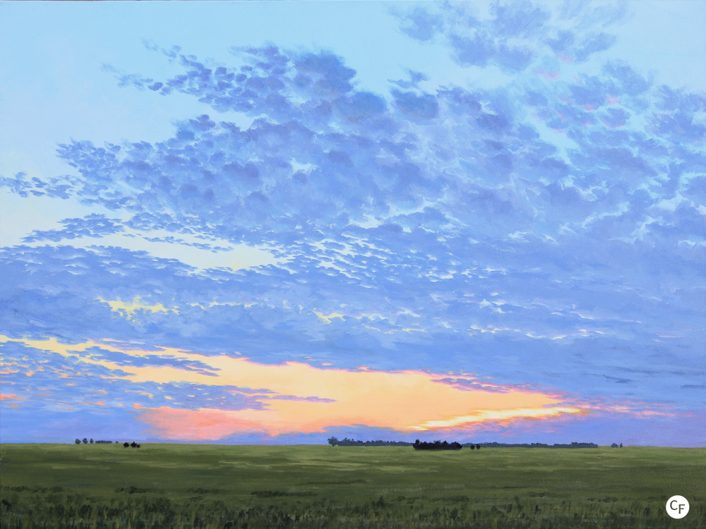 Prairie Summer Sunset (Photo courtesy of Catherine Freshley)