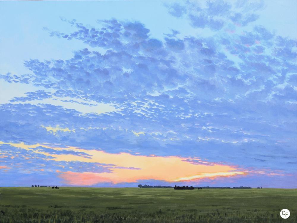 Prairie Summer Sunset (Photo courtesy of Catherine Freshley)