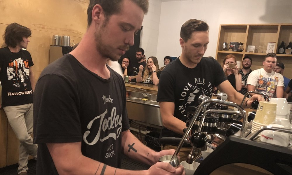 Tanner Ruminer - Representing Clarity Coffee