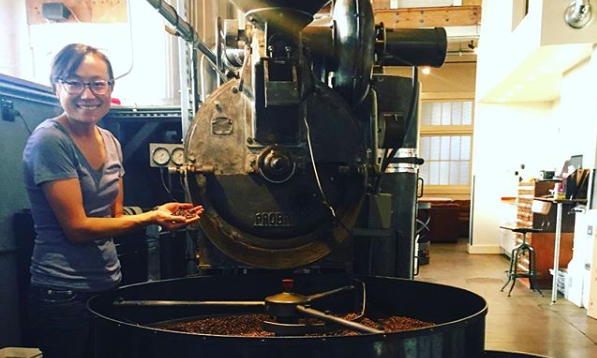 Leslie, head roaster at Ritual (Photo courtesy of Ritual Roasters)