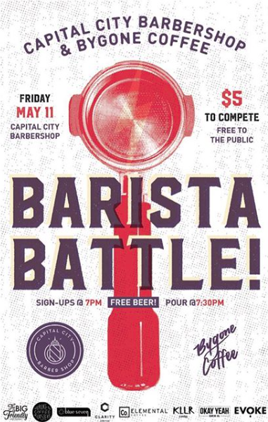 Barbershop Barista Battle