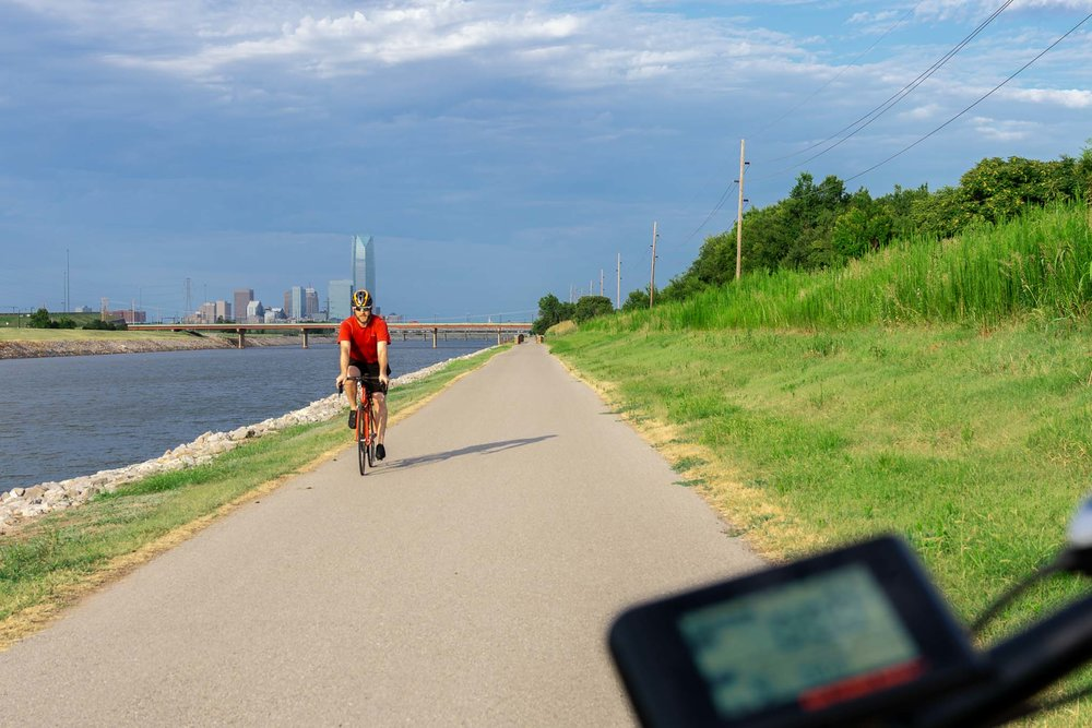Oklahoma River Bike Trail