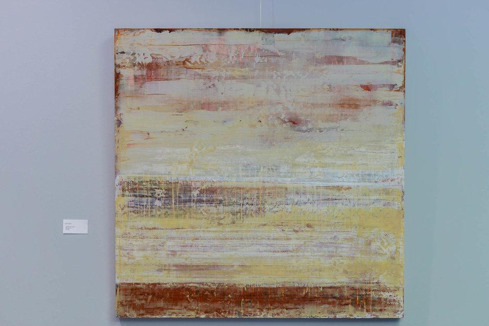 Jupiter (Acrylic on Panel)