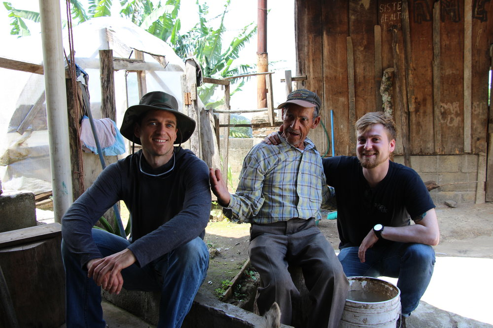 Coffee farmers in Honduras. Photo courtesy of 49th Parallel