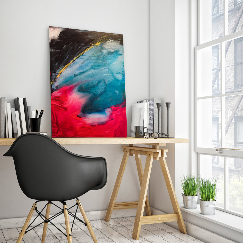 "Besame Mucho   Acrylic on canvas   24x36"""