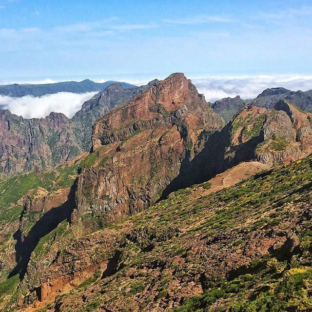 Way to the top. #madeira #mountains #picodeariero