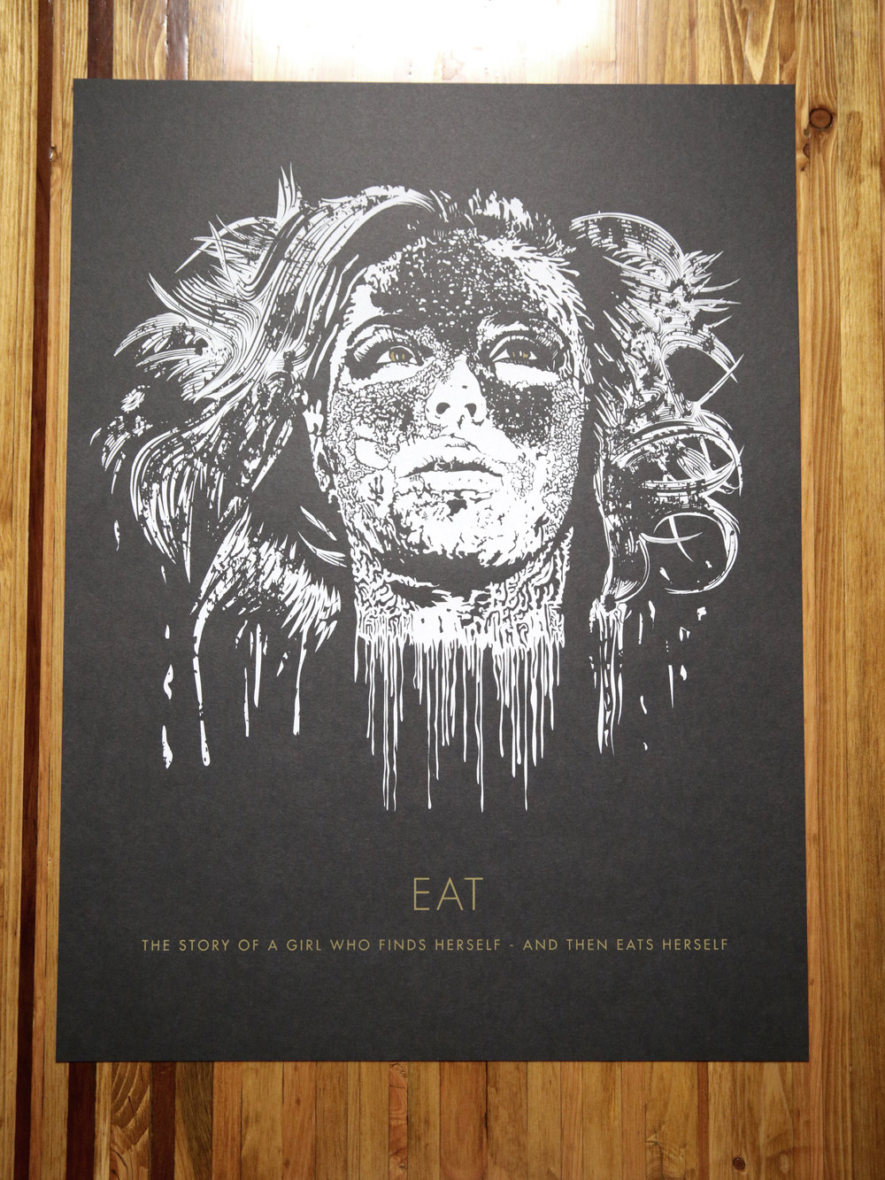 EAT Screen Print