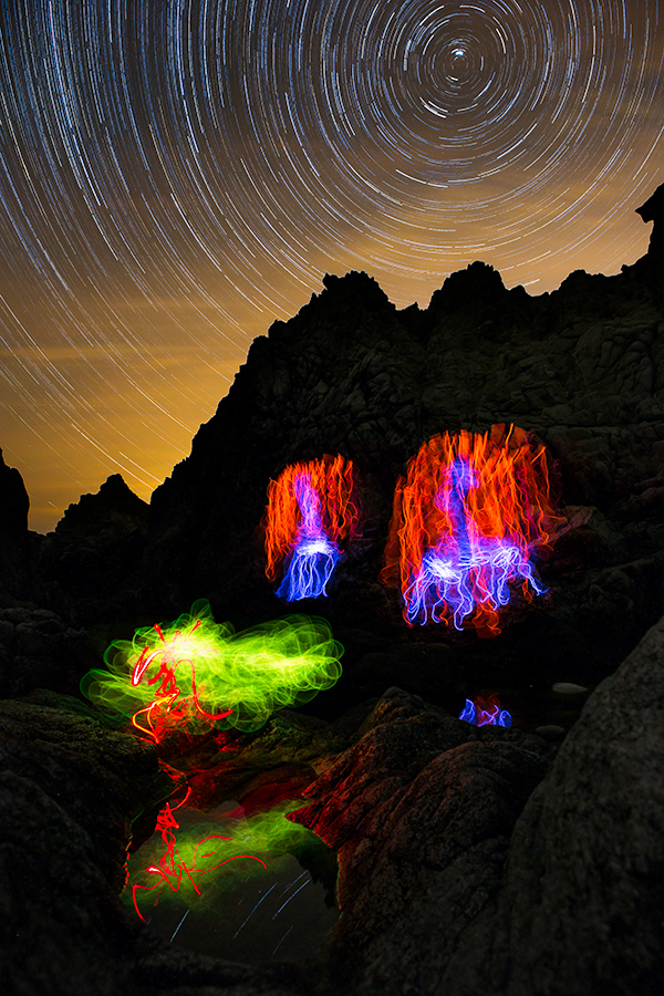 Illuminations of Big Sur