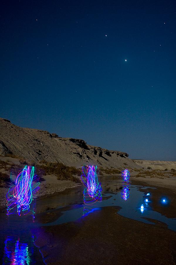 Illuminations of Death Valley