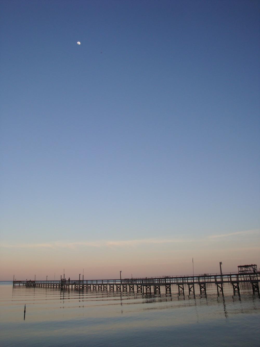 Rockport Pier at Dusk