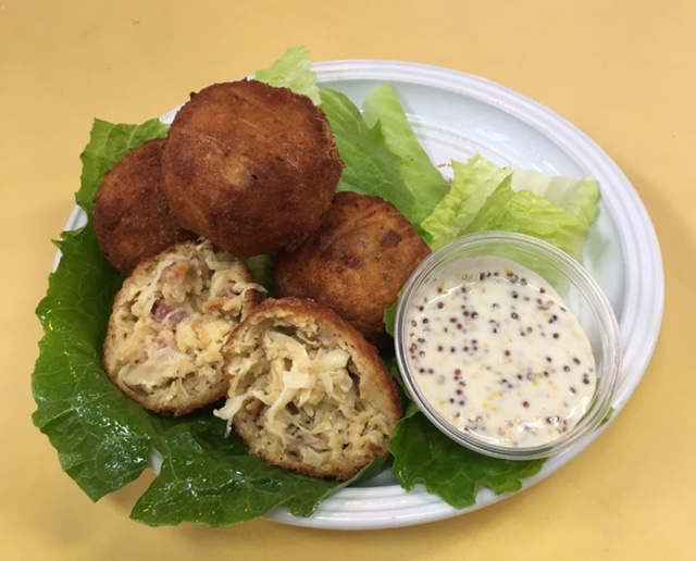Bair's Chick Sauerkraut Kroketten - Oktoberfest Week in Downtown York
