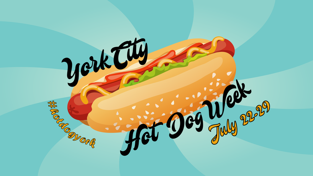 York City Hot Dog Week Downtown York PA