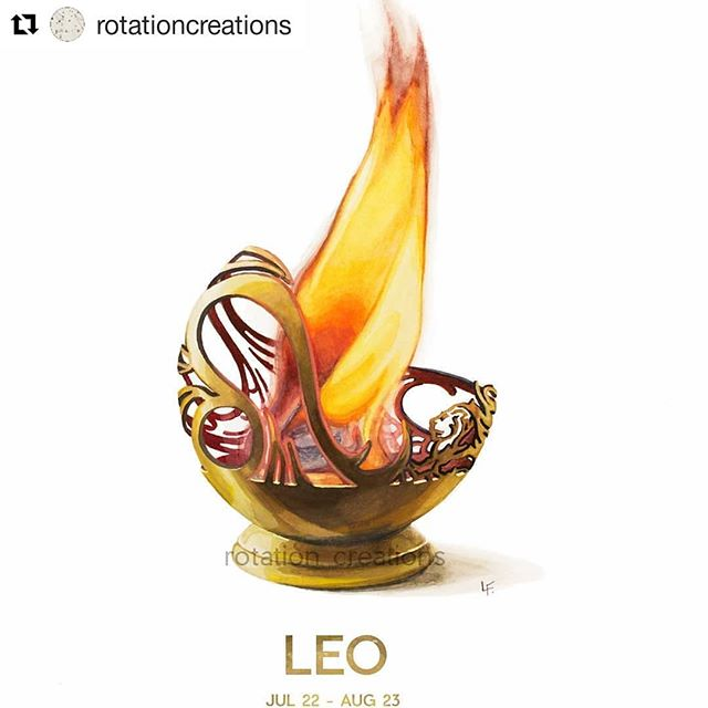 #Repost @rotationcreations (@get_repost) ・・・ Let's celebrate all you lions out there! 🦁♌🙌 I finished the next watercolor painting in my zodiac series. If you were born between July 22nd- Aug 23rd your sun is the proud fire sign of Leo. Prints are now available on my shop. Tag a Leo that you know! . . . #leo #leoseason #lion #liontattoo #leotattoo #leo♌ #zodiacsigns #zodiac #astrologyposts #astrologysigns #astrologyart #watercolorpainting #watercolor #firesigns #fire #fireelement #teamleo
