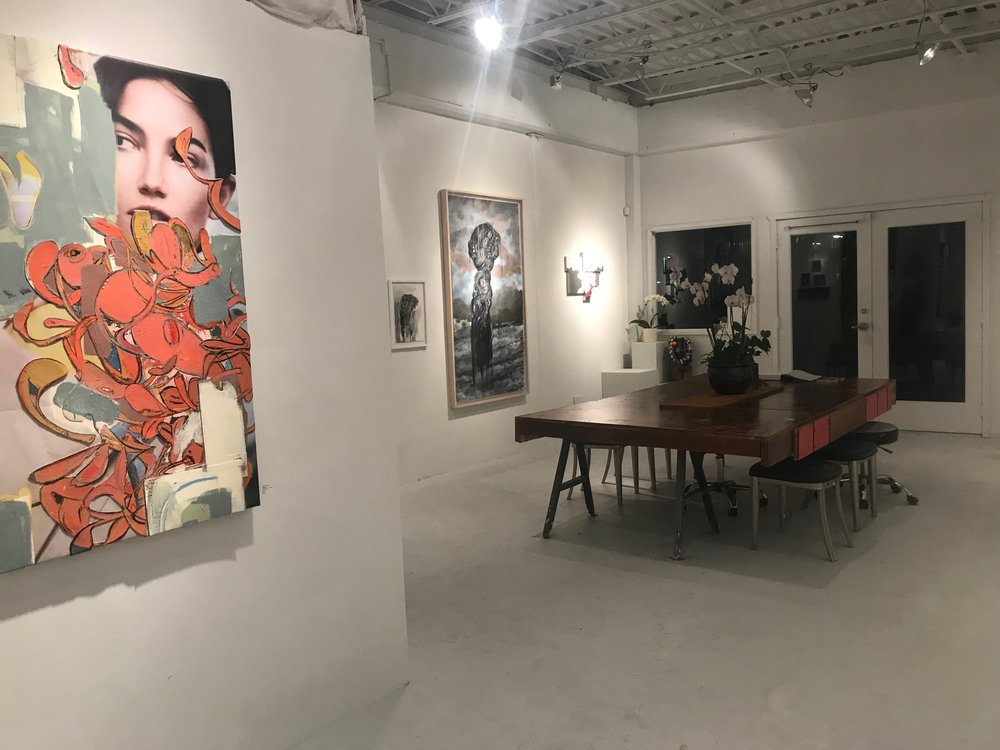 Kailua gallery and ruth sorensen studio functions AS an active open art studio, pop up retail venue and multisciplinary space.