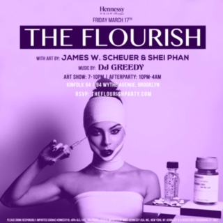 March 17th at Kinfolk 94 Wythe Ave Brooklyn, NY Art show 7-10pm After party 10-4am RSVP: www.theflourishparty.com