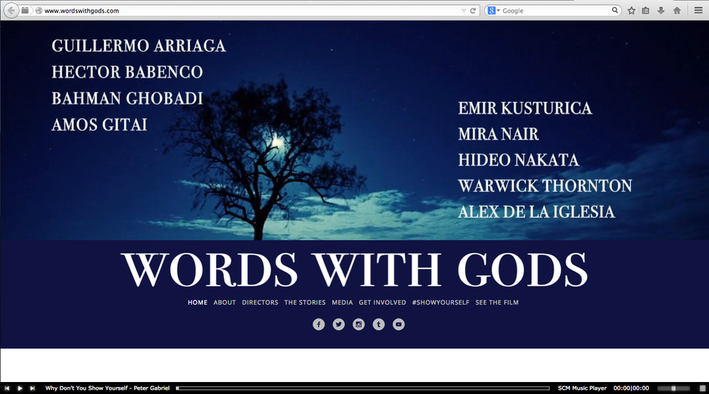 Words with Gods produced by Guillermo Arriaga