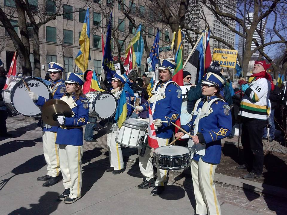 Mega March for Ukraine - March 16, 2014