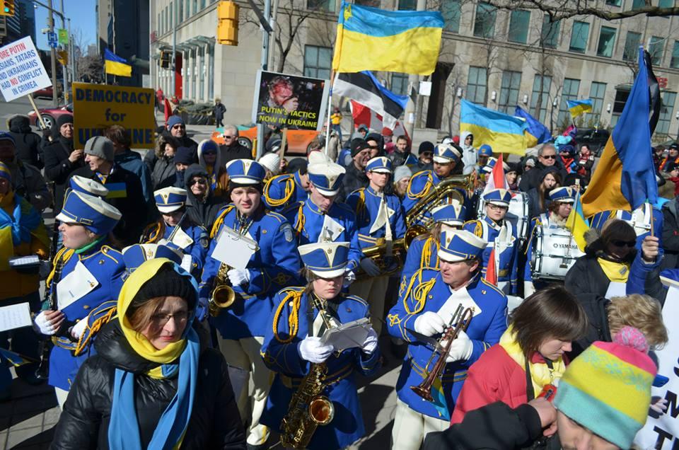 Mega March for Ukraine - March 16, 2014