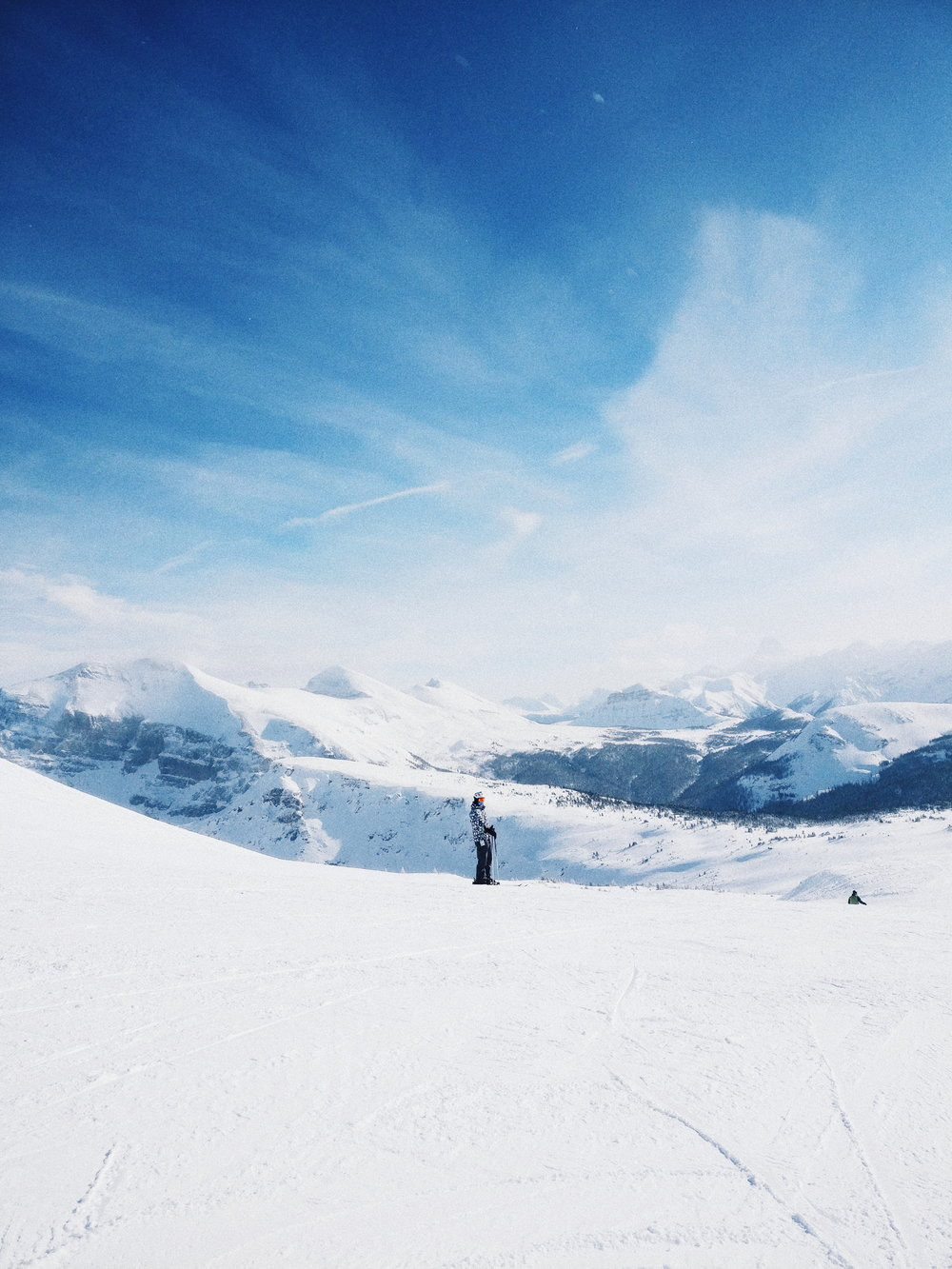 02/21/2018 Dylan Moore, Sunshine Ski Resort, Banff, Alberta