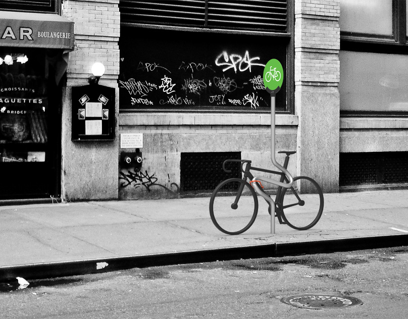Bike Parking Concept for the City of New York
