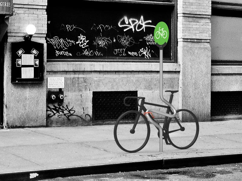 NYC Bike Pole