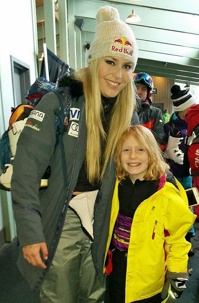 Lindsey Vonn and Molly