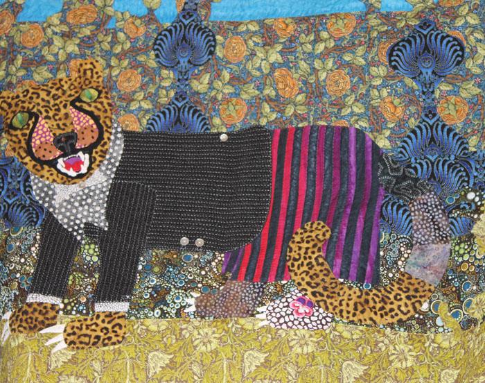Uta's wonderful Leopard Who Hides His Spots