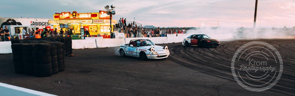 8bit Drift Miata and Nissan 240sx