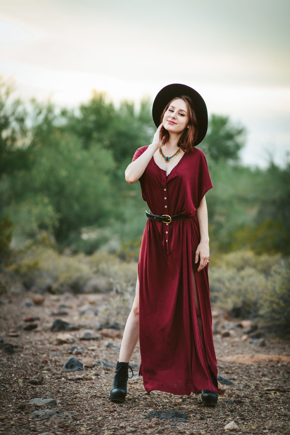 Modeling Free People Dress
